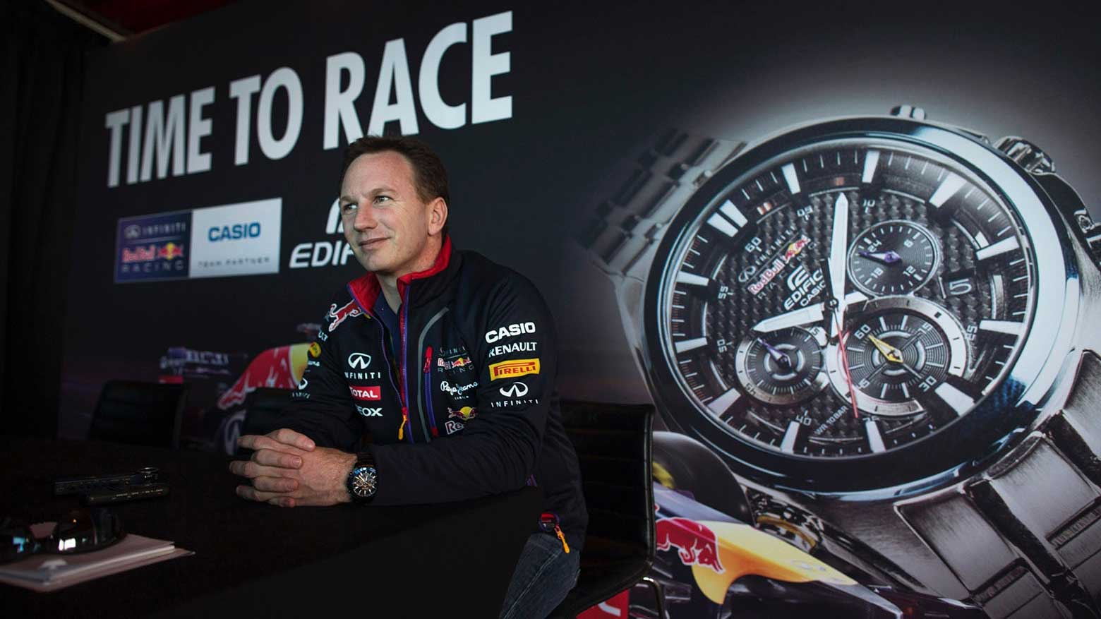 Redbull and Casio watch launch
