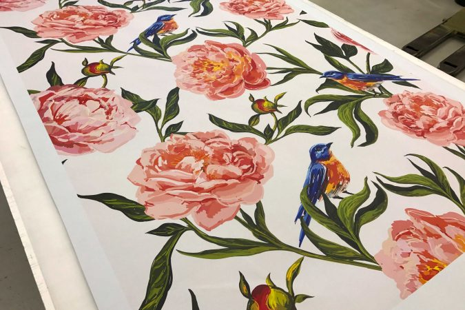 Huge High Definition Fabric Printing Services