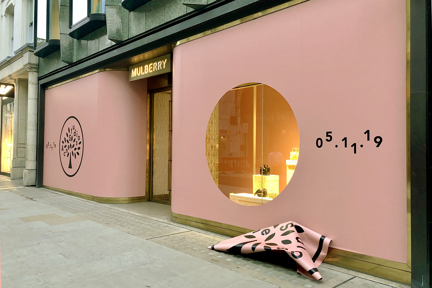 Mulberry Acne window reveal